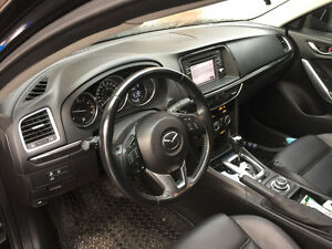 2014 Mazda 6 Black on Black Leather