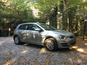 2015 Volkswagen Golf Hatchback (11 months remaining on lease)