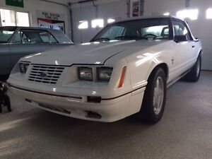 1984-1/2 Ford Mustang Convertible 20th Anniversary