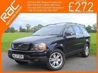 2007 Volvo XC90 2.4 D5 Turbo Diesel 185 BHP SE AWD 7-Seater Geartronic 6 Speed A