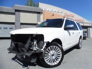 Lincoln Navigator AWD, 3.5L ECOBOOST, DVD, TOIT, FULL LOADED ! 2