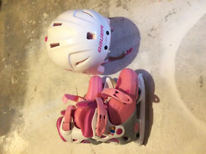 Disney Adjustable Girls Skates Y12-2