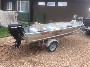 14' Boat and Motor