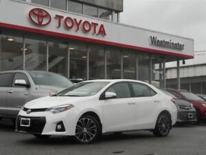 2016 Toyota Corolla S Upgrade Package