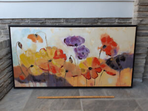 Huge Oil Painting Abstract LUNA
