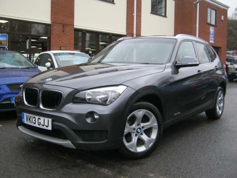 2013 13 reg bmw x1 2 0td 141bhp sdrive18d se sat nav heated seats in worcester. Black Bedroom Furniture Sets. Home Design Ideas