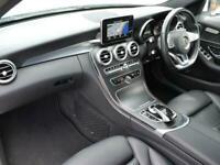 2017 Mercedes-Benz C CLASS DIESEL SALOON C220d AMG Line 4dr Auto Saloon Diesel A
