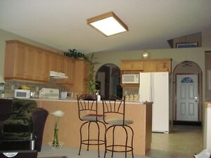 flourescent kitchen light fixture