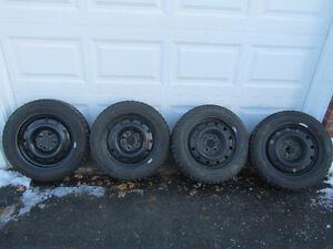Hankook I-Pike 205/55/16 snow tires