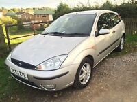 Focus ZETEC,,full years mot, only 80,000 miles with service history