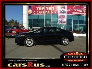 2014 Honda Civic LX  2 year Unlimited km warranty included!