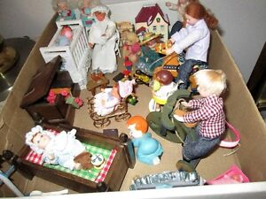 Nursery items necessary for your doll house children.