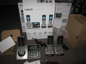 VTech CS5158-3 3-handset Cordless Phone - New, Open Box