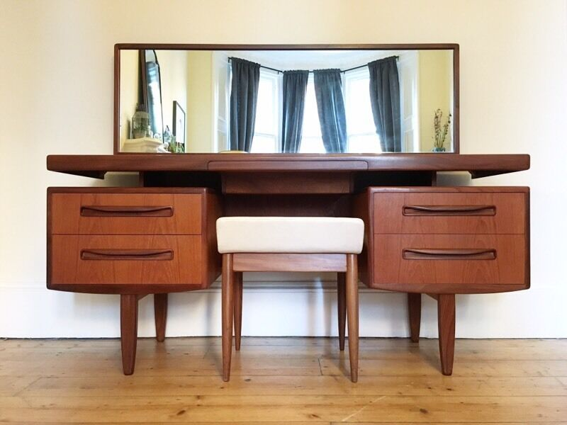 Mid century g plan fresco desk dressing table vintage - Retro office desk ...