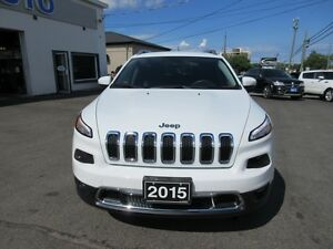 2015 Jeep Cherokee Limited FWD Peterborough Peterborough Area image 20