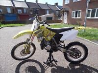 RM 250 recent full engine rebuild from westgate (not cr yz kx)