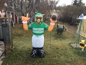 Sask.Roughrider Display Blowup-8ft-reduced