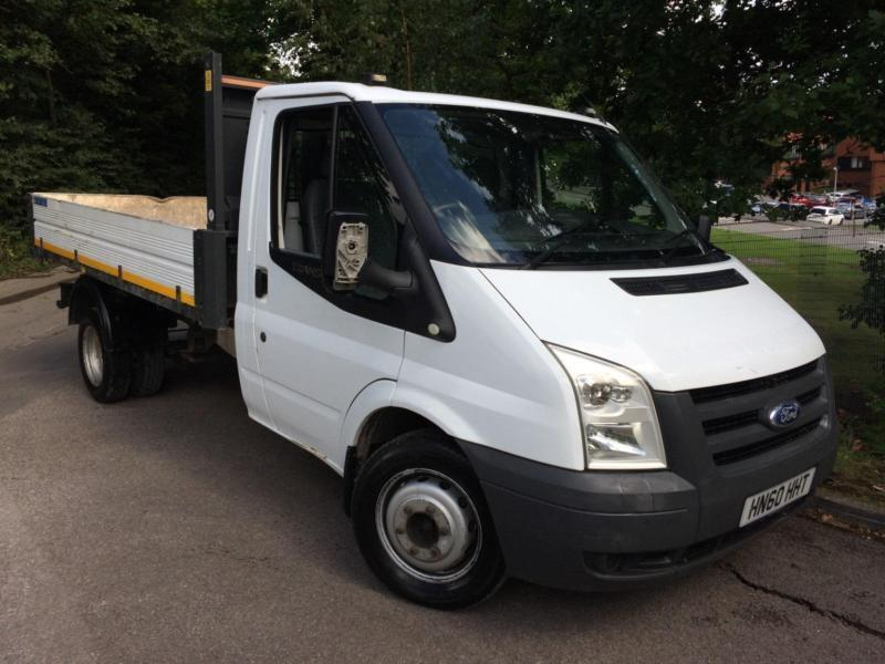 Ford Transit 2.4TDCi Duratorq (115PS) 330S Single Cab Tipper DIESEL 2010/60