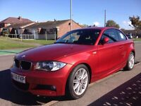 BMW 120d M SPORT IMMACULATE (orange/red) INSIDE AND OUT £8995 ono