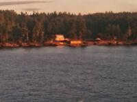 Gulf Island Waterfront Acreage