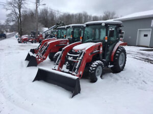 MASSEY FERGUSON - 36-49hp Factory Cab Tractors Reduced!