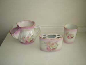 Two vintage pieces-Old Foley China by James Kent-Rose patterns