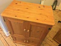 Beautiful Linton Pine Storage / TV / Audio Cabinet