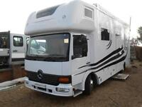 Mercedes-Benz 815 Race Truck. Newly Converted 6 Berth with Large Rear Garage