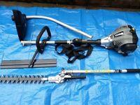 Bargain an new Titan petrol multi tool strimmer & hedge cutter £120 bargain