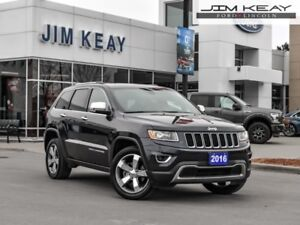 2016 Jeep Grand Cherokee Limited  - Leather Seats - $118.18 /Wk