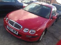 Rover 200 mot expired start and drives 195 no offers