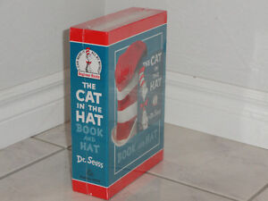 THE CAT IN THE HAT BOOK AND HAT SET