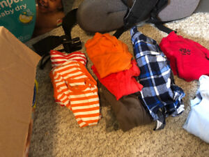 0-3 , 6-12, 9 &12 months boy clothing.