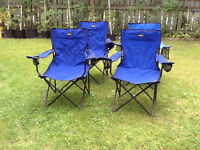 4 Camping Chairs