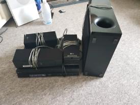 *Reserved*LG DVD 5.1 surround sound