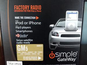 GM factory radio phone integration unit