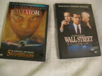 DVDS EN FRANCAIS ET EN ANGLAIS/ENGLISH AND FRENCH DVDS
