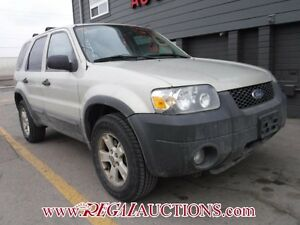 2005 FORD ESCAPE XLT 4D UTILITY 4WD XLT