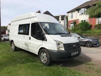 62 plate Ford transit campervan LOW MILES ONLY 35k !