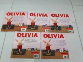 Olivia books x5