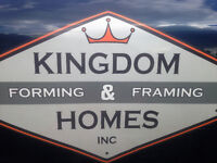 Framers 1-10 years experience