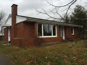 Nice brick bungalow for rent in West End Moncton