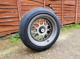 16 Inch 9J Deep Dish Alloy Wheels & Tyres - 5x100 vw 5x112 golf audi