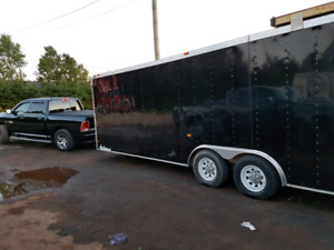 2010 Haulmark Race Trailer 26'