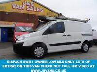 2013 62 CITROEN DISPATCH 1.6 H.D.I SWB L1 H1 2013/62 REG LOW MLS 1 OWNER LOTS OF