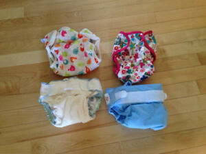 Cloth diapers ( used once )