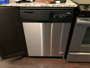 "Whirlpool WDF310PAAS4- 24"" Under-Counter Dishwasher"