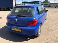 Peugeot 307 1.6 16v ( a/c ) Rapier 3 DOOR - 2002 52-REG - 6 MONTHS MOT