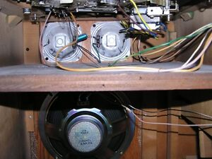 Vintage 1954 VIKING STEREOPHONIC CABINET RECEIVER- TUBE working West Island Greater Montréal image 10