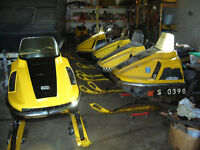 getting out of vintage snowmobile ..selling my collection